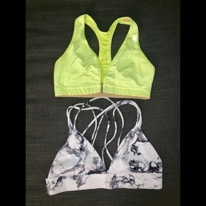 Sports Bra Bundle - Lululemon and Nike